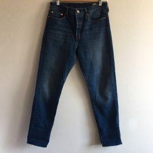 Levi's White Oak Cone Denim Wedgie Fit Jeans 28